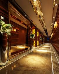 Posh Interiors by 3d Model Classy Corridor With Posh Interior Cgtrader