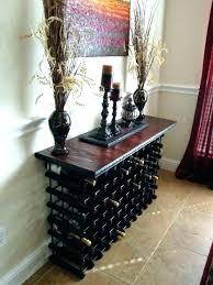 wine rack console table wine rack console table goodna info