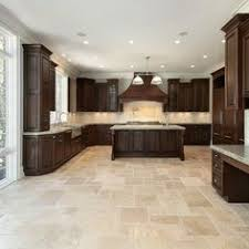 tiled kitchen floors ideas travertine floors sealing travertine floor tiling