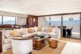 Cannes Dining Table Peek Inside This Luxury Yacht With Waiting List For Cannes Events