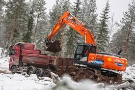 the new hitachi zh210lc 5 hybrid excavator hitachi iground control 8