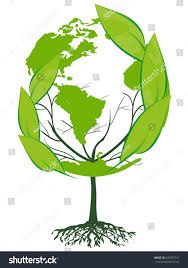 globe tree stock vector 520587217