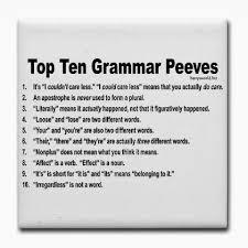 ain t ain t a word the importance of grammar portfolium