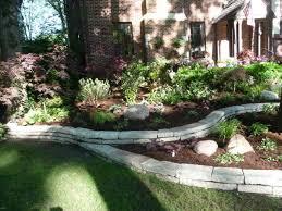 Shady Backyard Landscaping Ideas Backyard Landscaping Ideas Retaining Walls Best 25 Retaining Walls