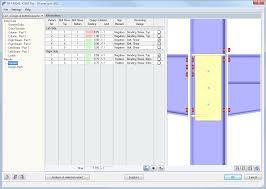 rf frame joint pro frame joint design acc ec 3 dlubal software