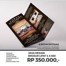 contoh desain brosur hotel koleksi brosur camroo projects
