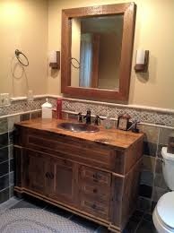Barn Board Bathroom Vanity Barn Wood Bathroom U2014 Barn Wood Furniture Rustic Barnwood And Log