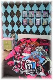 Monster High Bedroom Decorations How To Paint An Argyle Wall Walls Monster High Bedroom And