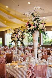 Trumpet Vase Wedding Centerpieces by 77 Best Centerpieces Images On Pinterest Marriage Flower