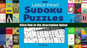 The Doormat Syndrome Pdf Read Online 200 Large Print Sudoku Puzzles At All Levels Sudoku