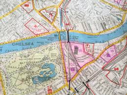 Chelsea Map Luftwaffe Bombing Map Targets Press For March Auction Bosleys