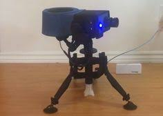 3d printed team fortress 2 engineer sentry gun projects