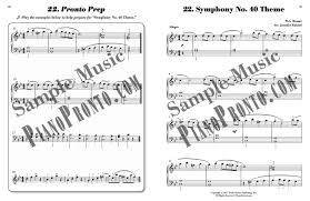 piano pronto movement 3 hardcopy method book piano pronto