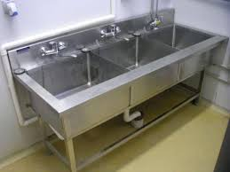 used 3 compartment stainless steel sink fascinating used commercial kitchen for sink single compartment pics