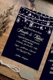 Rustic Wedding Invites Top 10 Affordable Rustic Wedding Invitations With Rsvp Cards For