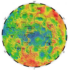 Topographical Map Of Usa by Mercury U0027s Topography From Mla Nasa