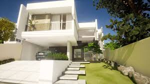 Modern House Exterior by Modern House Exterior And Interior Youtube