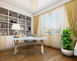 white study room interior design rendering 3d download 3d house