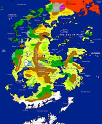 Map Of North America And Can by Goblin Punch Map Of Centerra