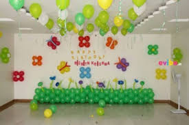 best simple balloon decorations birthday decorations in hyderabad