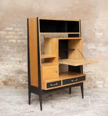 secretaire bureau bureau secrétaire vintage en bois pieds compas les vieilles choses