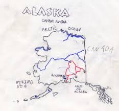 Map Of Alaska Rivers by State Report Alaska