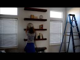 How To Decorate A Bookshelf How To Decorate Shelves Youtube