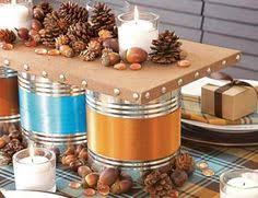 How To Decorate A Tin Fathers Day Craft Idea Decorate Tin Cans With Scrapbook Paper Or