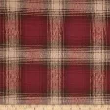 primo plaids v flannel large plaid red discount designer fabric