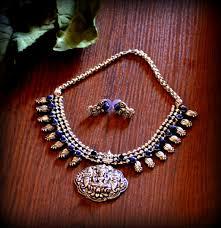 silver pendant necklace set images Tbzss170 oxidized silver tone temple pendant necklace set with jpg