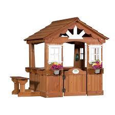 amazon com backyard discovery scenic all cedar wood playhouse