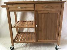 island kitchen cart kitchen island cart ebay