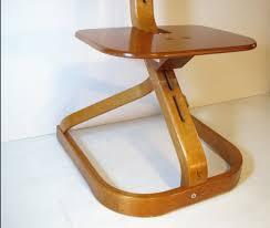 Svan Chair Vintage Mid Century Modern Bentwood Birch Chair By Svan Studios 3