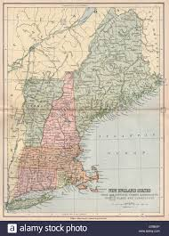 New England States Map by New England Usa Maine Nh Vermont Massachusetts Ri Connecticut