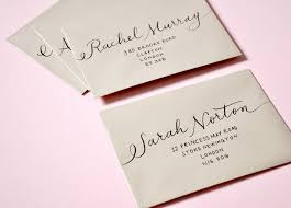 how to address wedding invitations without inner envelope how to address wedding invitations