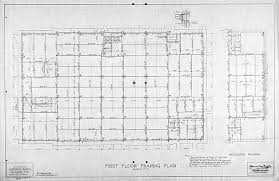 Floor Framing Plan Alachua County Library District Heritage Collection
