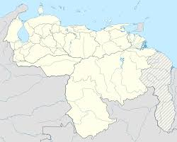 Venezuela Map Template Location Map Venezuela Wikipedia