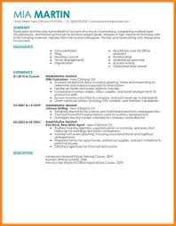 Resume Example For Administrative Assistant by 7 Administrative Assistant Resume Sample Technician Resume