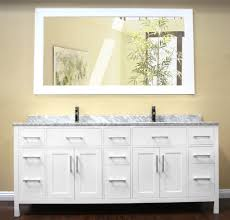 Double Vanity With Tower Bathroom Furniture Single Undermount Sink Espresso Beige Master