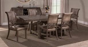 Legacy Dining Room Set by Hillsdale Legacy 7 Piece Dining Set Dark Grey 5985dt7pc