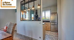 cuisine avec verriere une nouvelle cuisine avec verrière en remplacement d un mur porteur