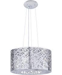ceiling lights portfolio chrome mini pendant light with clear