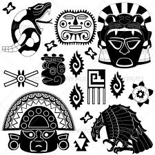 ancient american elements vectors conceptual religion