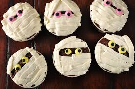 mummy cupcakes recipe joyofbaking com video recipe