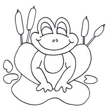 print u0026 download princess frog coloring