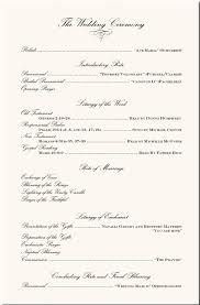 ceremony program templates wedding ceremony program template the free website templates
