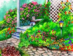 flowers garden deck places flowers gardens parks attractions