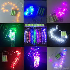online cheap led indoor lamp mini copper strip light 2m 20 led