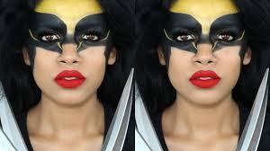 wolverine halloween makeup tutorial youtube