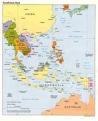Singapore On Map Seasia4c On Map Southeast Asia Countries World Maps
